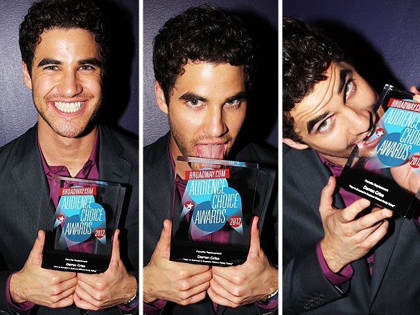 Speech! Speech! Darren Criss Thanks Fans After Winning 2012 Broadway.com Audience Choice Award