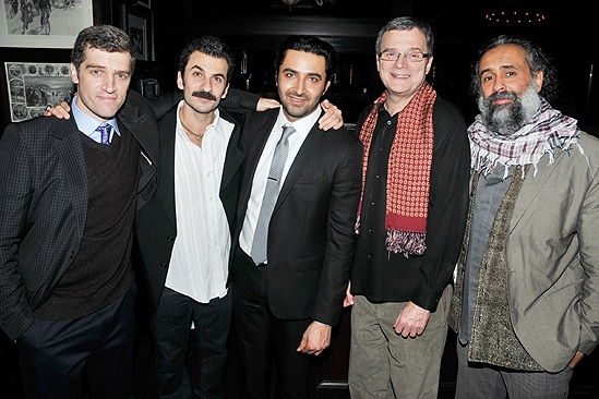 Pej Vahdat in Blood and Guts cast photo