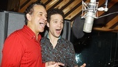 Women on the Verge Recording Session – Brian Stokes Mitchell – Justin Guarini (recording)